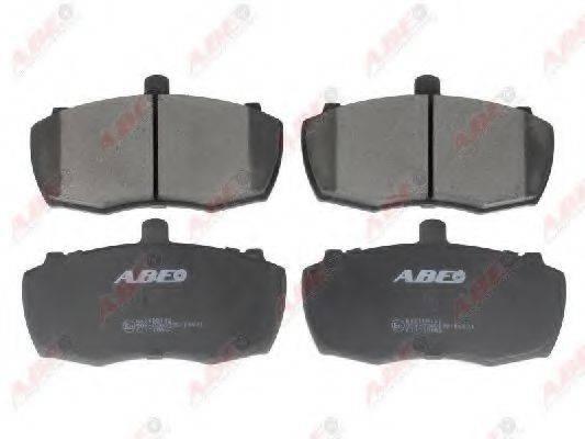 Комплект тормозных колодок, дисковый тормоз ABE C1I010ABE
