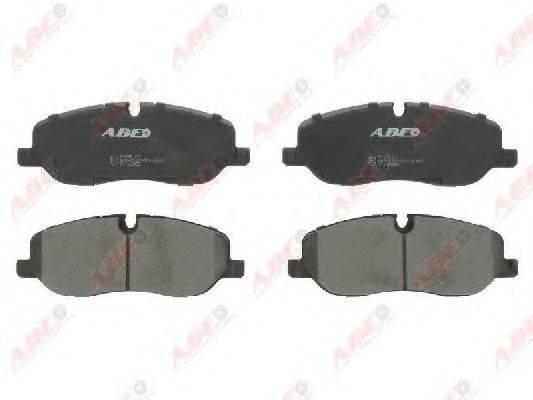 Комплект тормозных колодок, дисковый тормоз ABE C1I012ABE