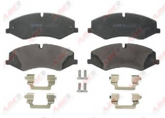 Комплект тормозных колодок, дисковый тормоз ABE C1I014ABE