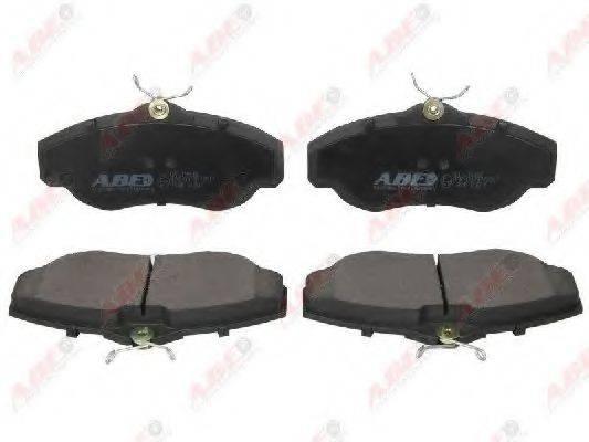 Комплект тормозных колодок, дисковый тормоз ABE C1I015ABE