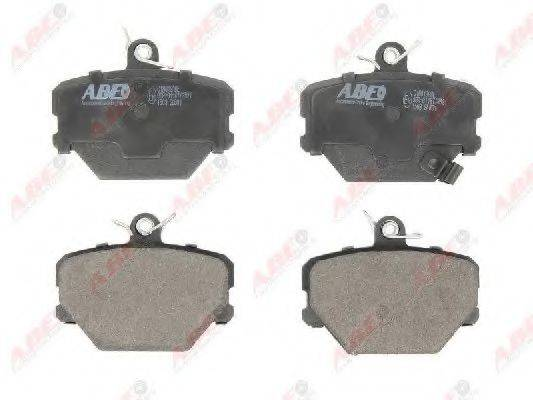 Комплект тормозных колодок, дисковый тормоз ABE C1M019ABE
