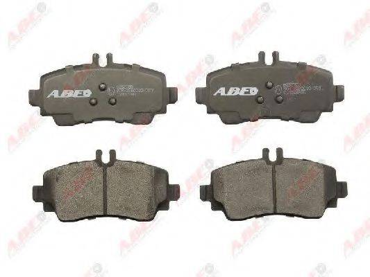 Комплект тормозных колодок, дисковый тормоз ABE C1M022ABE