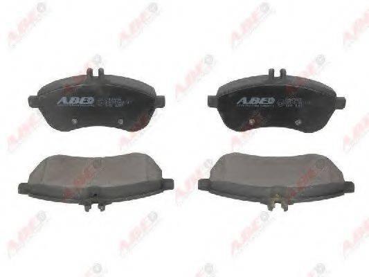 Комплект тормозных колодок, дисковый тормоз ABE C1M056ABE