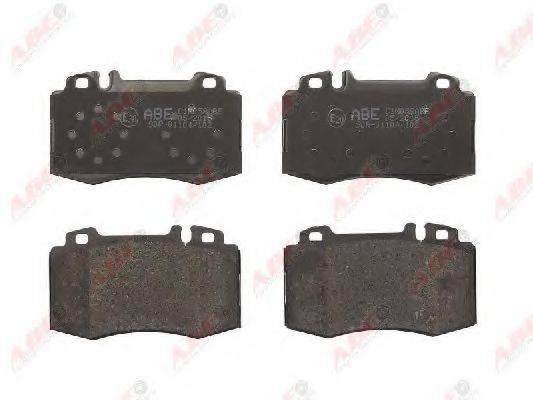 Комплект тормозных колодок, дисковый тормоз ABE C1M058ABE