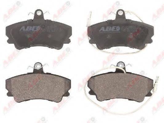 Комплект тормозных колодок, дисковый тормоз ABE C1R009ABE
