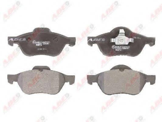 Комплект тормозных колодок, дисковый тормоз ABE C1R019ABE
