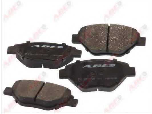 Комплект тормозных колодок, дисковый тормоз ABE C1R022ABE