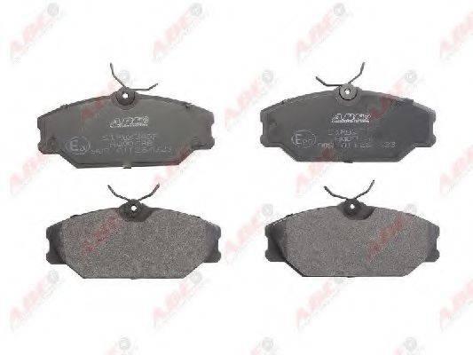 Комплект тормозных колодок, дисковый тормоз ABE C1R023ABE