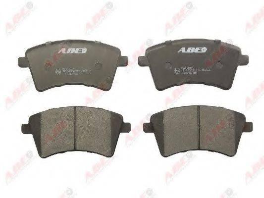 Комплект тормозных колодок, дисковый тормоз ABE C1R042ABE