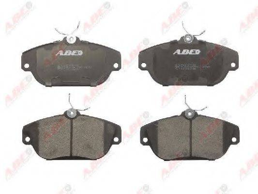 Комплект тормозных колодок, дисковый тормоз ABE C1V018ABE
