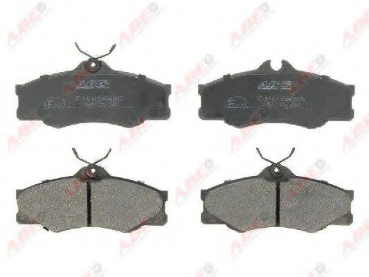 Комплект тормозных колодок, дисковый тормоз ABE C1W028ABE