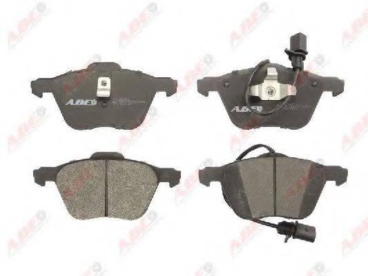 Комплект тормозных колодок, дисковый тормоз ABE C1W043ABE