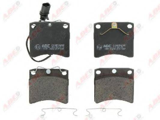 Комплект тормозных колодок, дисковый тормоз ABE C1W054ABE
