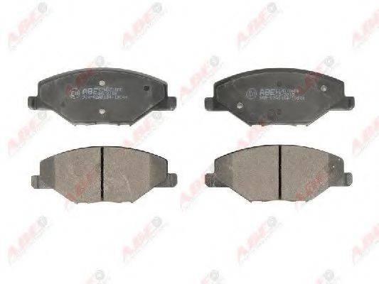 Комплект тормозных колодок, дисковый тормоз ABE C1W070ABE