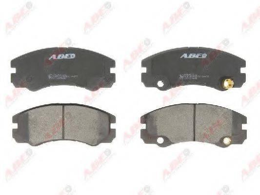 Комплект тормозных колодок, дисковый тормоз ABE C1X015ABE