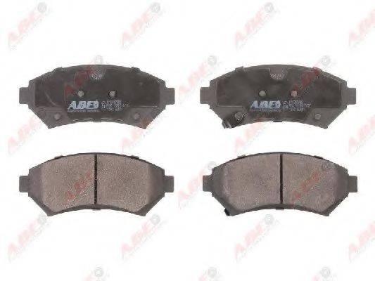 Комплект тормозных колодок, дисковый тормоз ABE C1X017ABE
