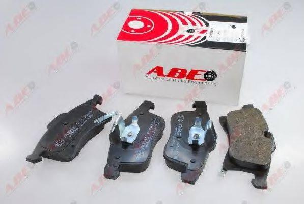 Комплект тормозных колодок, дисковый тормоз ABE C1X033ABE