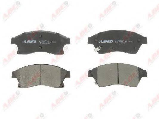 Комплект тормозных колодок, дисковый тормоз ABE C1X036ABE
