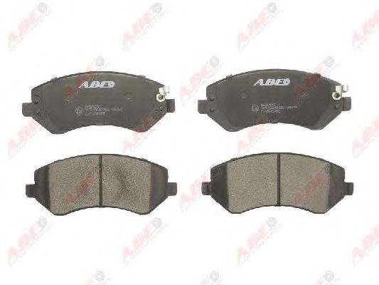 Комплект тормозных колодок, дисковый тормоз ABE C1Y005ABE