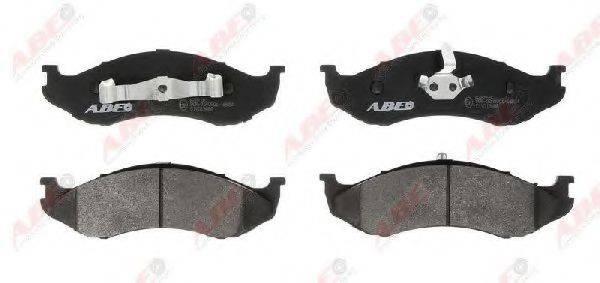 Комплект тормозных колодок, дисковый тормоз ABE C1Y013ABE
