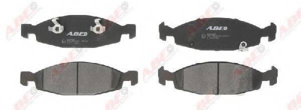 Комплект тормозных колодок, дисковый тормоз ABE C1Y014ABE