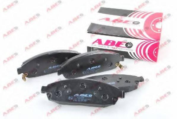 Комплект тормозных колодок, дисковый тормоз ABE C1Y026ABE