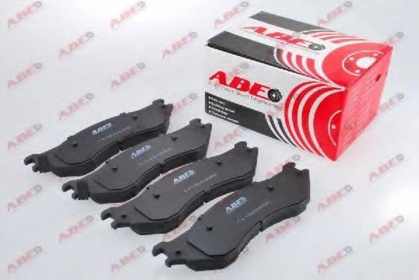 Комплект тормозных колодок, дисковый тормоз ABE C1Y028ABE
