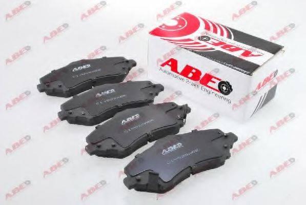 Комплект тормозных колодок, дисковый тормоз ABE C1Y029ABE