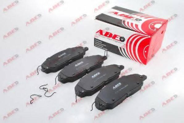 Комплект тормозных колодок, дисковый тормоз ABE C1Y030ABE