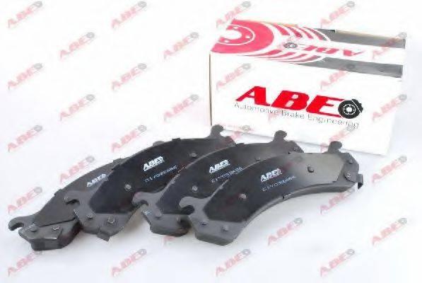 Комплект тормозных колодок, дисковый тормоз ABE C1Y032ABE