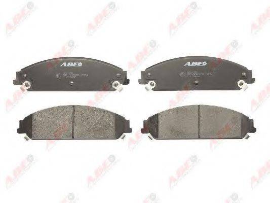 Комплект тормозных колодок, дисковый тормоз ABE C1Y035ABE
