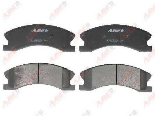 Комплект тормозных колодок, дисковый тормоз ABE C1Y036ABE