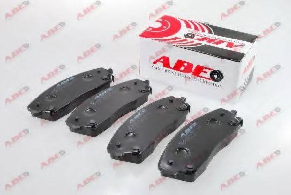 Комплект тормозных колодок, дисковый тормоз ABE C1Y037ABE