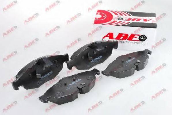 Комплект тормозных колодок, дисковый тормоз ABE C1Y038ABE