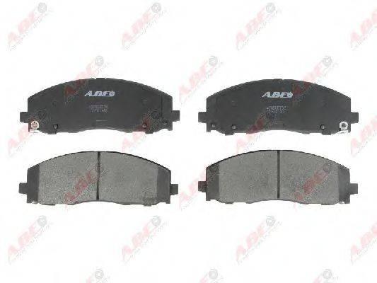 Комплект тормозных колодок, дисковый тормоз ABE C1Y041ABE