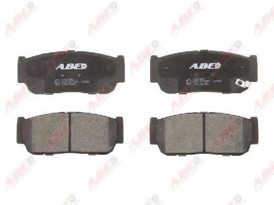 Комплект тормозных колодок, дисковый тормоз ABE C20010ABE