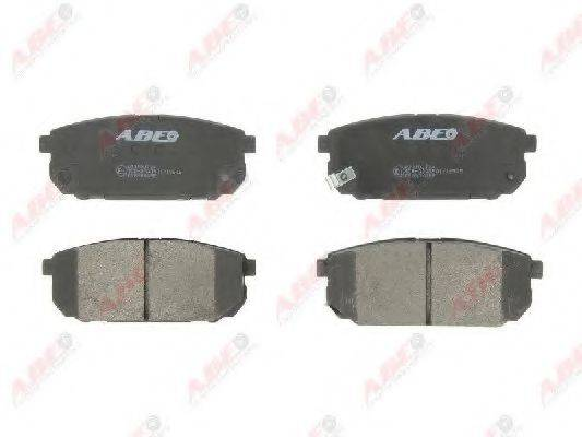 Комплект тормозных колодок, дисковый тормоз ABE C20304ABE