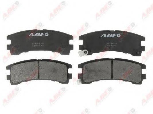 Комплект тормозных колодок, дисковый тормоз ABE C21028ABE