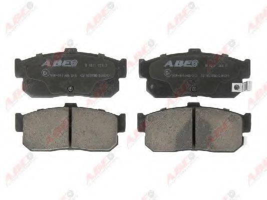 Комплект тормозных колодок, дисковый тормоз ABE C21030ABE