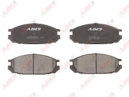 Комплект тормозных колодок, дисковый тормоз ABE C21032ABE