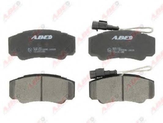 Комплект тормозных колодок, дисковый тормоз ABE C21051ABE