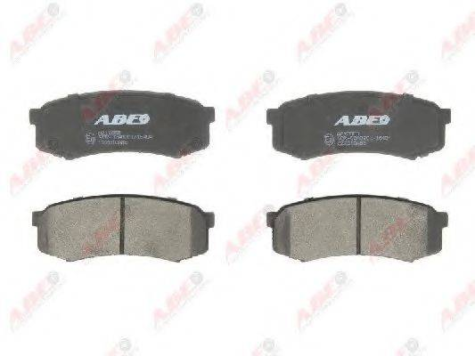 Комплект тормозных колодок, дисковый тормоз ABE C22010ABE