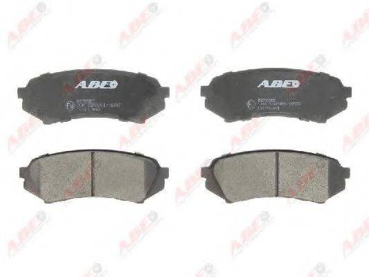 Комплект тормозных колодок, дисковый тормоз ABE C22017ABE