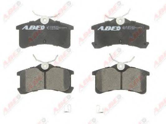Комплект тормозных колодок, дисковый тормоз ABE C22021ABE
