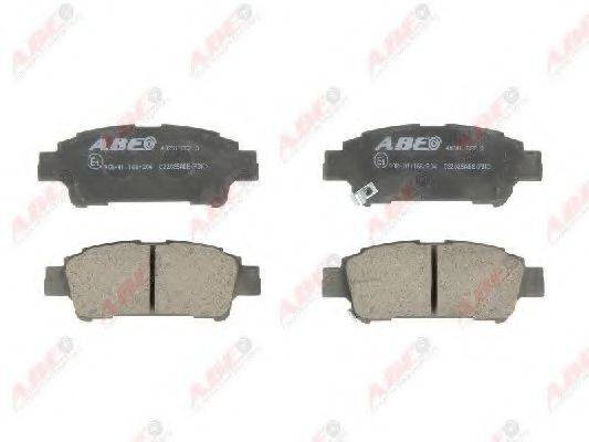 Комплект тормозных колодок, дисковый тормоз ABE C22025ABE