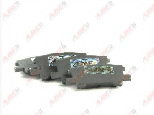 Комплект тормозных колодок, дисковый тормоз ABE C22032ABE