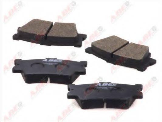 Комплект тормозных колодок, дисковый тормоз ABE C22034ABE
