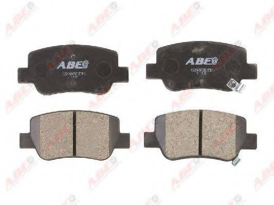 Комплект тормозных колодок, дисковый тормоз ABE C22040ABE