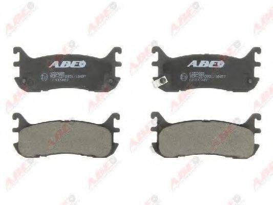 Комплект тормозных колодок, дисковый тормоз ABE C23009ABE