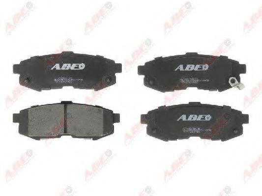 Комплект тормозных колодок, дисковый тормоз ABE C23017ABE